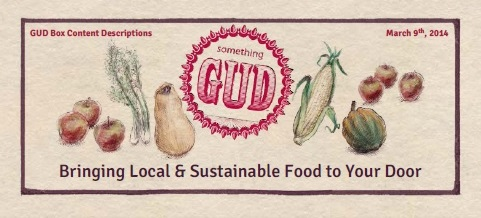 Local and sustainable, delivered right to your door!